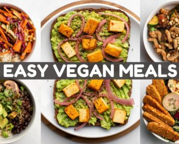 5 Meals I Eat Every Week (Vegan)
