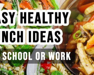 Easy Healthy Vegan Lunch Ideas for School or Work