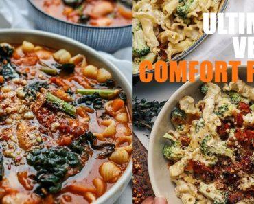 ULTIMATE VEGAN COMFORT FOOD  RECIPES?