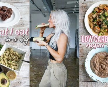 what I eat in a day   low(er) carb vegan recipes
