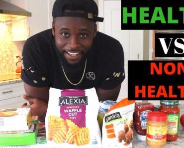 HEALTHY VS NON-HEALTHY VEGAN FOOD   VEGAN SHOPPING ADVICE