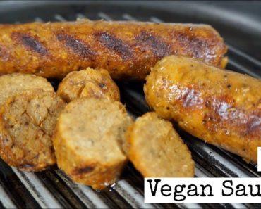 Easy Basic Vegan Sausage Recipe