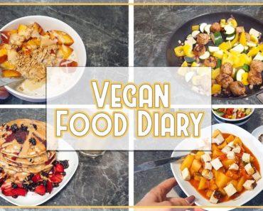 VEGAN FOOD DIARY – 6 Tage aus dem ALLTAG ? einfache & schnelle Rezepteinspirationen