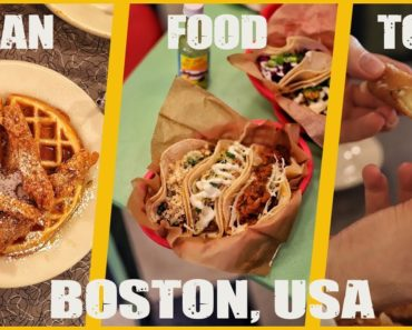 VEGAN FOOD TOUR IN BOSTON, USA