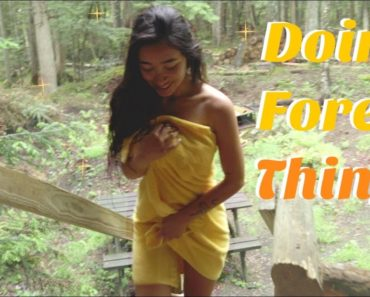Vegan Food, Nature & Spirituality   A Forest Vlog
