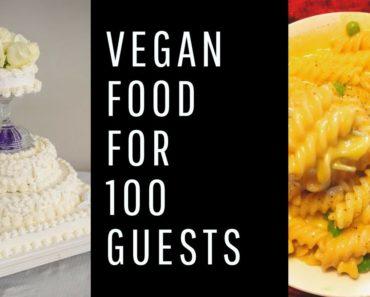 I cooked vegan food for my own wedding / MY VEGAN WEDDING
