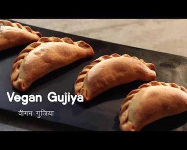 Vegan Gujiya   वीगन गुजिया   Vegan Recipes   Sanjeev Kapoor Khazana