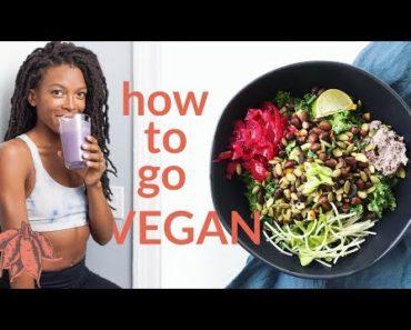 Beginner's Guide to Going VEGAN ??