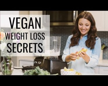 HOW TO SLIM DOWN AS A VEGAN   plant-based diet tips