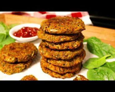 Baked Vegetable Patties Recipe (Vegan & Grain-free)   Vegan Patties   How to make Vegetable Patty