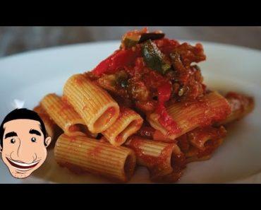 Rigatoni all'Ortolana | Vegetarian Pasta Italian Recipes