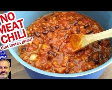 Vegetarian Chili for Everyone…even meatlovers