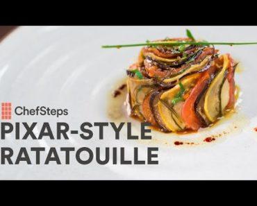 Pixar-Style Ratatouille