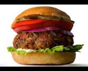Best Vegetarian Recipes l Lentil Walnut Veggie Burgers