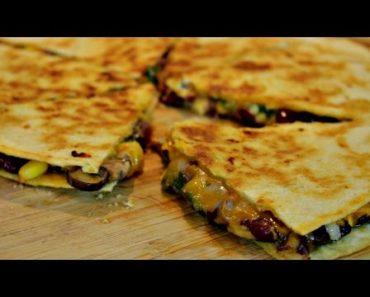 The Ultimate Vegetarian Quesadilla Recipe
