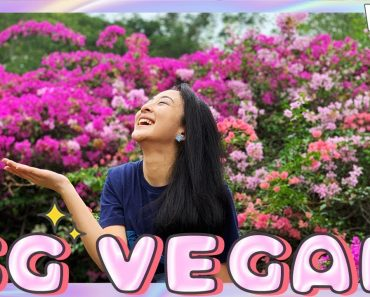 ? Singapore Vlog    Vegan Food, Andy Lau, & Horror Nights