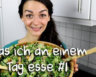 What I eat in a day (deutsch) | VEGAN FOOD DIARY | 3 einfache gesunde Rezepte