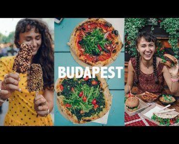 BUDAPEST = VEGAN FOOD HEAVEN? ✩ Vlog + Restaurant Guide ✩