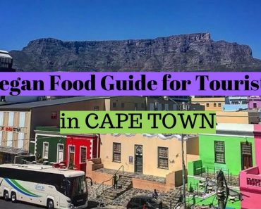Vegan Food Guide for Tourists in Cape Town