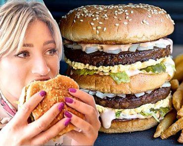 This Restaurants secret menu item is a VEGAN Big Mac! Fast Food