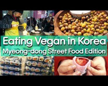 Korean Vegan Street Food
