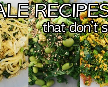 Easy Vegan Recipes Using KALE That Don't Suck
