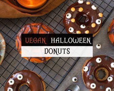 VEGAN HALLOWEEN DONUTS RECIPE 🎃 The White Chestnut