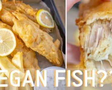 Vegan Fish & Chips (Banana Blossom Fish) // Recipe Test