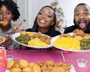 BAKED MAC AND CHEESE RECIPE   VEGAN   MUKBANG   EATING SHOW