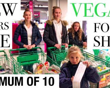 MOM OF 10 – VEGAN FOOD SHOPPING