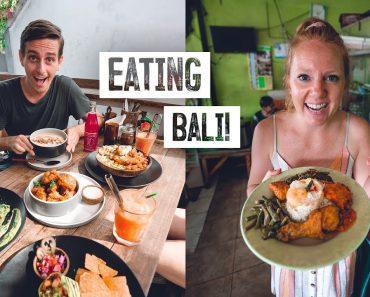 Bali FOOD TOUR! – Local Nasi Campur, Vegan Food, Babi Guling & MORE (Canggu)