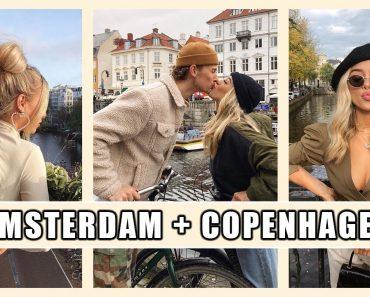AMSTERDAM AND COPENHAGEN VLOG | THRIFTING, VEGAN FOOD, CASTLE