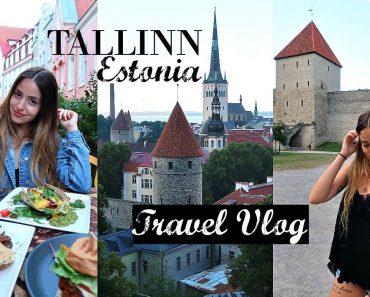 Exploring Tallinn's Old Town + Vegan Food // Estonia Travel Vlog