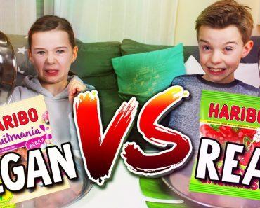 REAL FOOD vs. VEGAN FOOD CHALLENGE – Schmeckt IHR den Unterschied? Lulu & Leon – Family and Fun