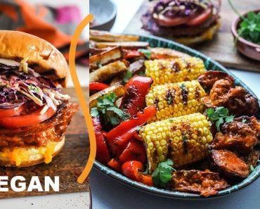 "VEGAN ""CHEEKY"" NANDOS 🔥super easy recipes! #justveg"