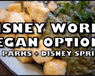 Vegan Food in Disney World + My All-Time Favourite Restaurants!