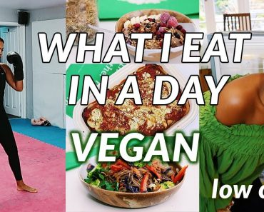 What I Eat In A Day LOW CARB | easy vegan recipes & TRAINING