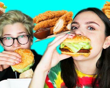VEGAN FOOD TASTE TEST