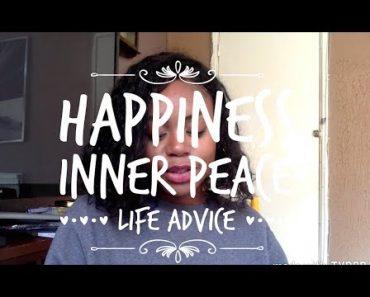 Happiness   Inner Peace   Life Advice   VEGAN