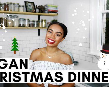 MY VEGAN CHRISTMAS DINNER   7 Recipes