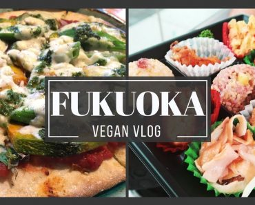 🌱 FUKUOKA VEGAN FOOD (5 Restaurants & Cafes in Fukuoka Japan)