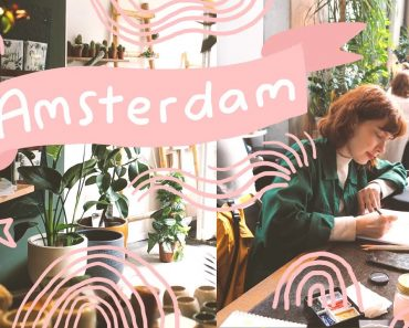 Amsterdam in February Vlog – Second Hand Shops, Eating Yummy Vegan Food, and a Drawing Club Meetup