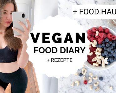 RAW VEGAN FOOD DIARY + REZEPTE + FOOD HAUL | Lea Theresa