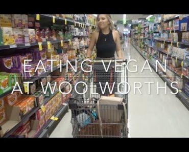 VEGAN FOOD FROM WOOLWORTHS