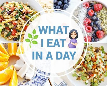What I Eat In a Day While Pregnant   HEALTHY VEGAN RECIPES