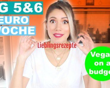 30€/Woche VEGAN FOOD CHALLENGE – Tag 5&6 | #yummypilgrim