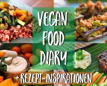WHAT I EAT – VEGAN FOOD DIARY mit Rezept-Inspirationen ♥ Bali Vlog