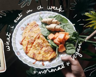 what I eat in a week 🌱💫 // 7 days of vegan food (ft. JUST egg!)