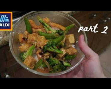 A week of moderately healthy vegan food from ALDI (Part 2)