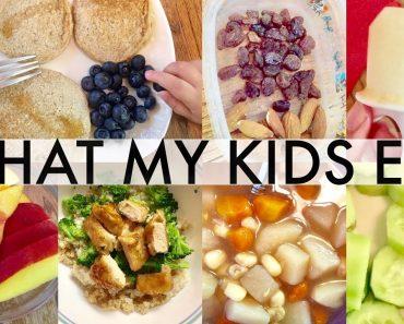 WHAT MY KIDS ATE TODAY   VEGAN